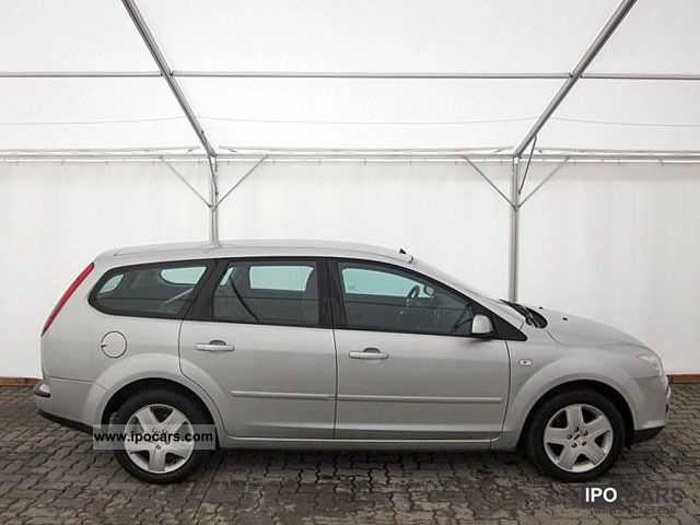 2007 Ford  Focus 1.8 Style, FlexiFuel, AC, 1.Hand Estate Car Used vehicle photo