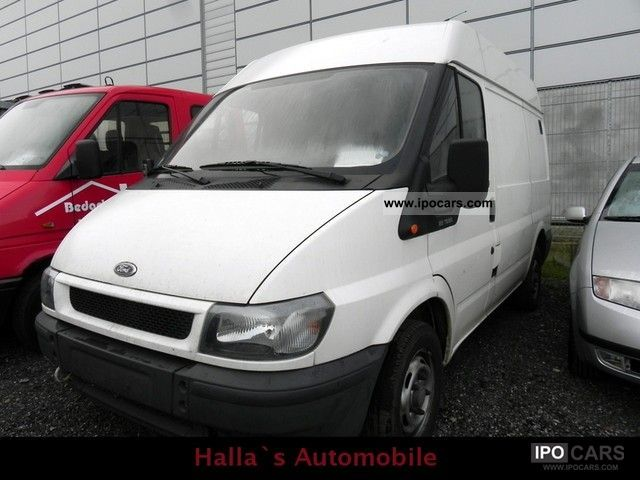 2003 Ford  Transit T 280 K TDE * truck * approval * 3-seater Estate Car Used vehicle photo