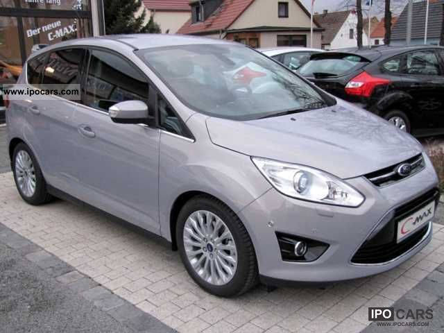 2011 Ford  C-Max 2.0 TDCi aut. Titanium (Xenon, Navigation, parking aid Estate Car New vehicle photo