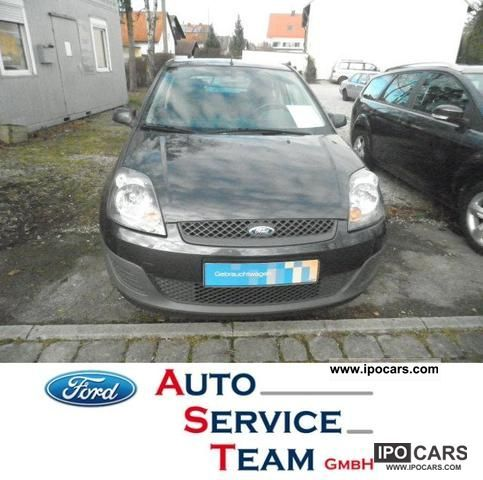 2006 Ford  Fiesta 1.4 Fun X automatic climate control, 8-frosted Limousine Used vehicle photo