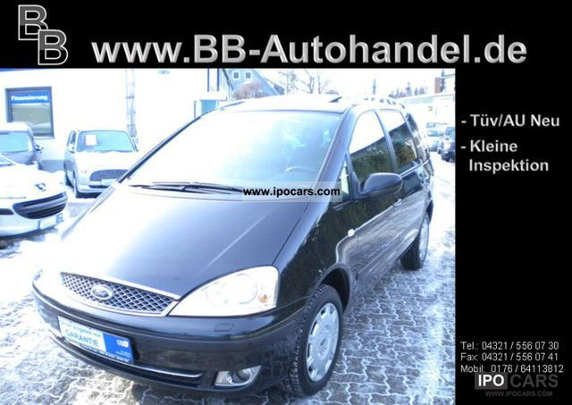 2005 Ford  Galaxy 1.9 TDI Aut. Ghia - 1.Hand - Van / Minibus Used vehicle photo
