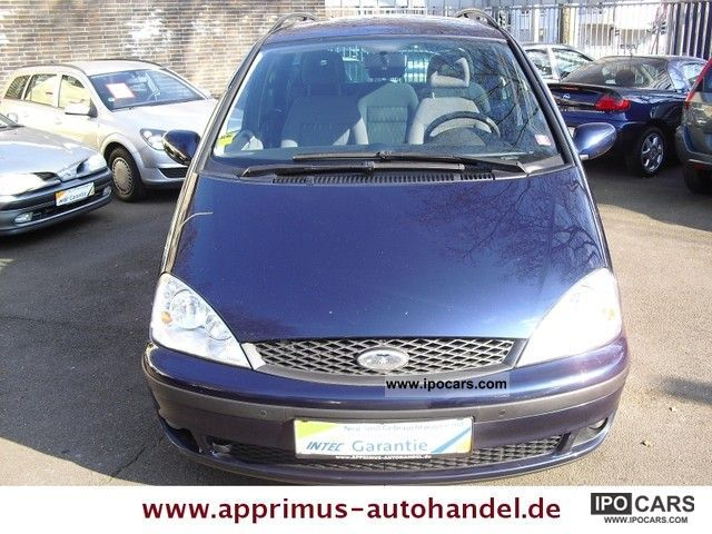 2003 Ford  * Trend Galaxy 16V 1.HAND * AIR * ONLY * 83.000KM Van / Minibus Used vehicle photo