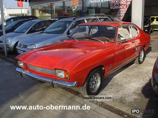 Ford  Capri 1500 L 1972 Vintage, Classic and Old Cars photo