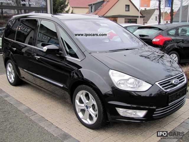 2011 Ford  Galaxy 2.2 TDCi Titanium (Navi, leather, xenon) Van / Minibus Employee's Car photo