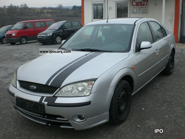 2002 ford mondeo 1 8 trend car photo and specs. Black Bedroom Furniture Sets. Home Design Ideas