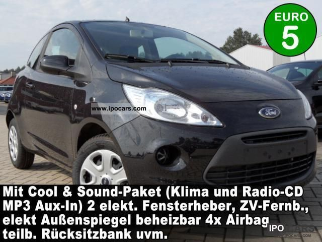 2011 Ford  Ka 1.2 Trend Cool & Sound Package Start-Stop 2 ... Small Car New vehicle photo