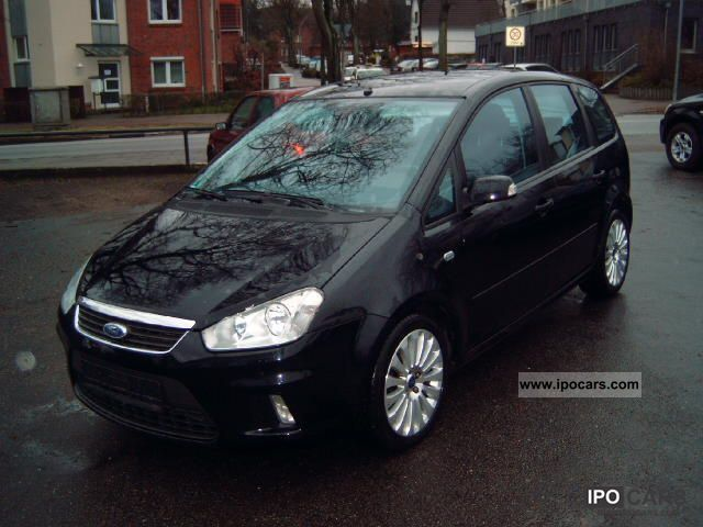 2008 ford c max 1 6 tdci titanium klimaaut lmf i hand car photo and specs. Black Bedroom Furniture Sets. Home Design Ideas