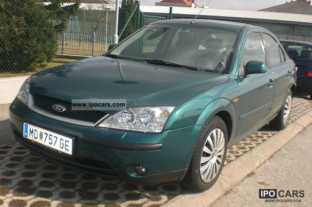 2001 ford mondeo 2 0 tdci car photo and specs. Black Bedroom Furniture Sets. Home Design Ideas