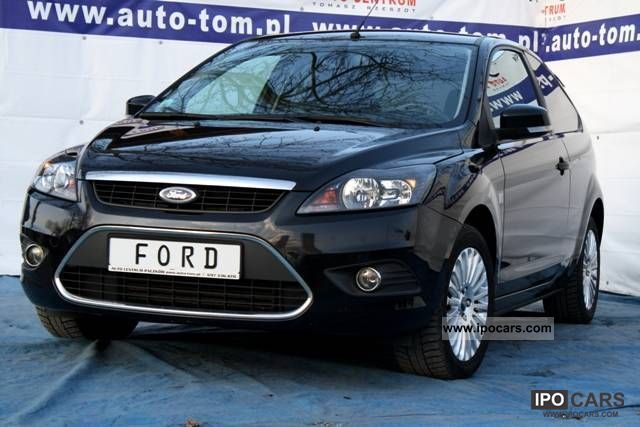 2009 Ford  Focus 1.8 Titanium Duża vision! Small Car Used vehicle photo