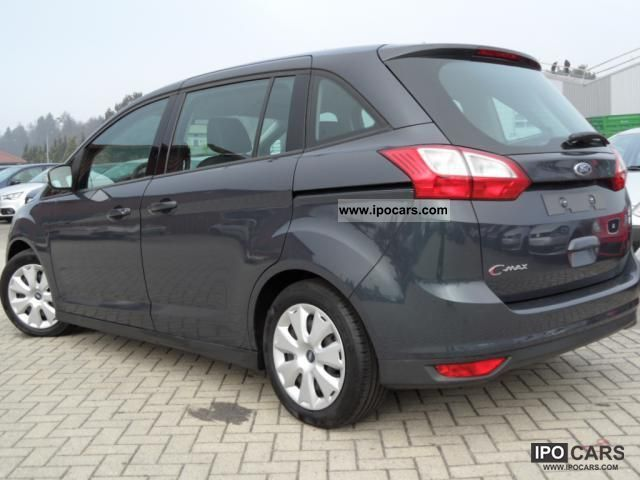 2011 ford grand c max 1 6 trend 105 bhp 7 seater air f car photo and specs. Black Bedroom Furniture Sets. Home Design Ideas