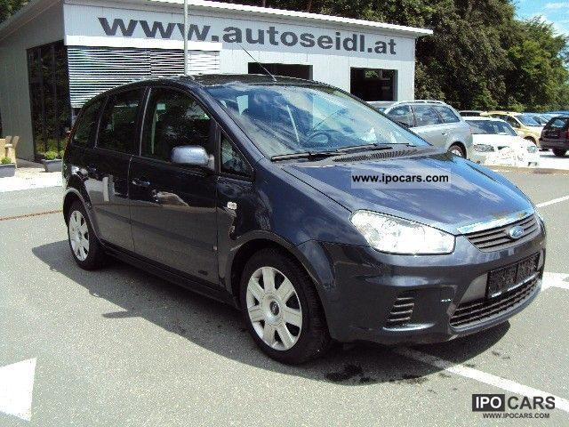 2008 ford c max 1 6 tdci trend dpf car photo and specs. Black Bedroom Furniture Sets. Home Design Ideas