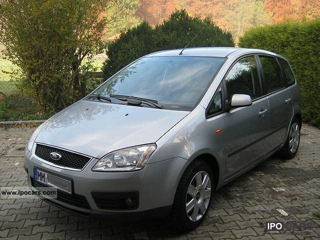 2004 ford focus c max 1 8 trend car photo and specs. Black Bedroom Furniture Sets. Home Design Ideas
