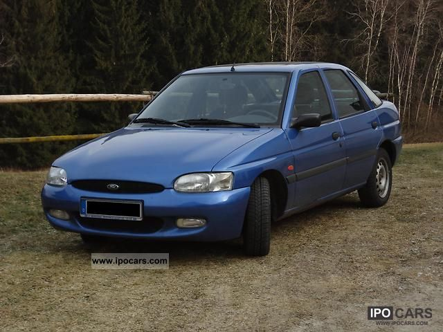 1997 Ford Escort Car Photo And Specs