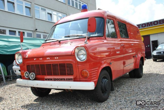 Ford  Transit - FIRE - HISTORIC! 1973 Vintage, Classic and Old Cars photo