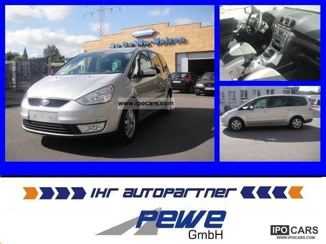 2007 Ford  Galaxy 1.8 TDCI Ghia * 7 * leather seats * Navigation * Warranty Van / Minibus Used vehicle photo