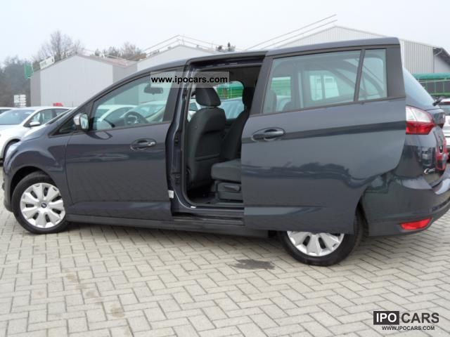 2011 ford grand c max 1 6 105 bhp 7 seater air trend f car photo and specs. Black Bedroom Furniture Sets. Home Design Ideas