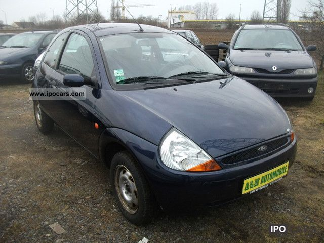 2000 ford ka futura air car photo and specs. Black Bedroom Furniture Sets. Home Design Ideas