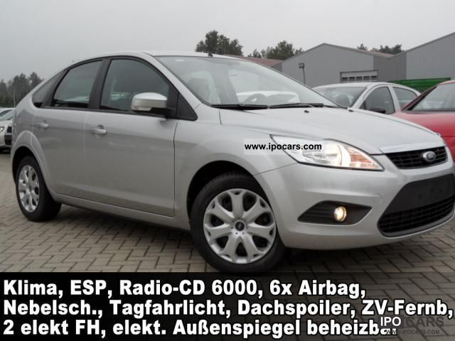 2007 Ford  Focus 1.6 Style 5-door 100PS air RadioCD6 ... Small Car New vehicle photo