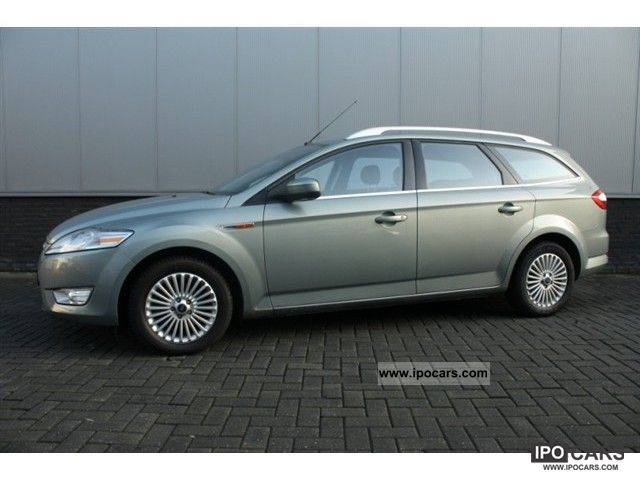 2008 ford mondeo wagon 2 0 16v 145pk titanium car photo and specs. Black Bedroom Furniture Sets. Home Design Ideas
