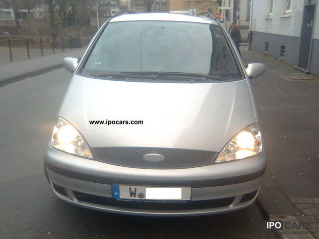 Ford  Galaxy ** ** Heated gas system ** Air ** Private ** 2001 Liquefied Petroleum Gas Cars (LPG, GPL, propane) photo