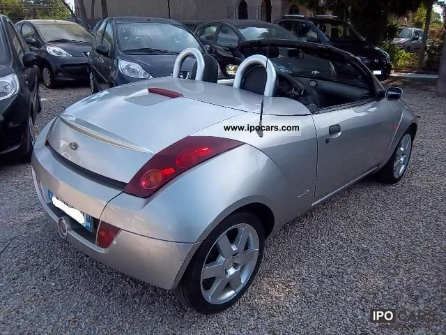 2004 ford streetka 1 6 convertible car photo and specs. Black Bedroom Furniture Sets. Home Design Ideas