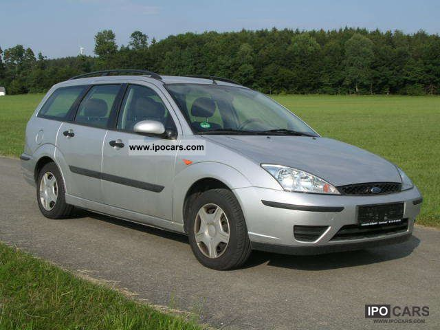 2003 Ford  Focus 1.8 tournament Futura AIR AHK EURO 4 Estate Car Used vehicle photo