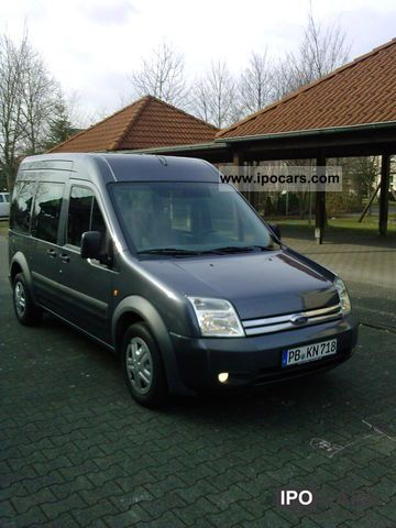 2008 ford transit tourneo connect lang 8sitzer car. Black Bedroom Furniture Sets. Home Design Ideas
