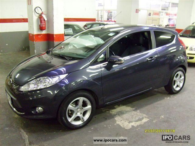 2009 ford fiesta 1 4 tdci titanium 68 cv car photo and specs. Black Bedroom Furniture Sets. Home Design Ideas