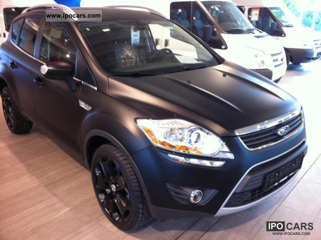 2011 Ford  Kuga Titanium mattschwarz/20 inch / auto. 103 ... Other New vehicle photo