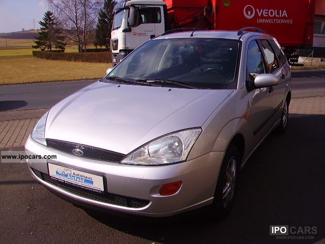 Ford  Focus Turnier Ambiente WITH AUTO GAS 2001 Liquefied Petroleum Gas Cars (LPG, GPL, propane) photo