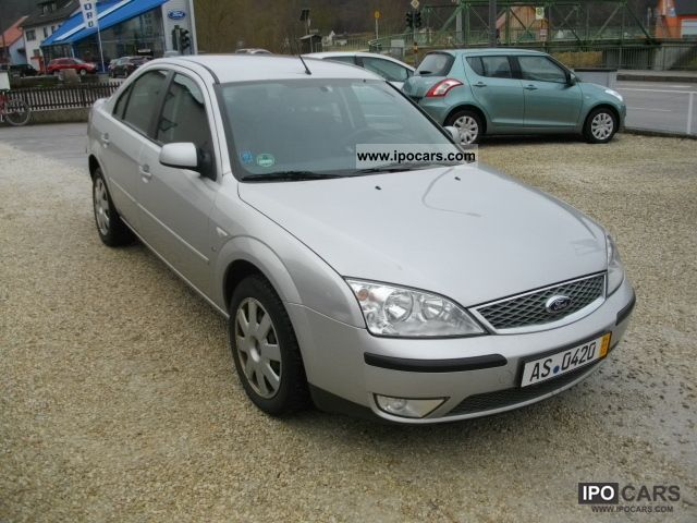 2006 ford mondeo 2 5 v6 automatic top condition car photo and specs. Black Bedroom Furniture Sets. Home Design Ideas
