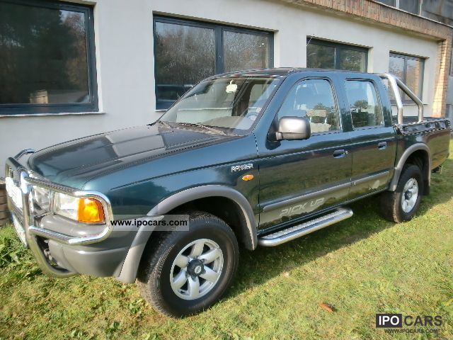 1999 Ford  Ranger 4x4, NAVI, GOOD CONDITION, INSP.NEU Off-road Vehicle/Pickup Truck Used vehicle photo