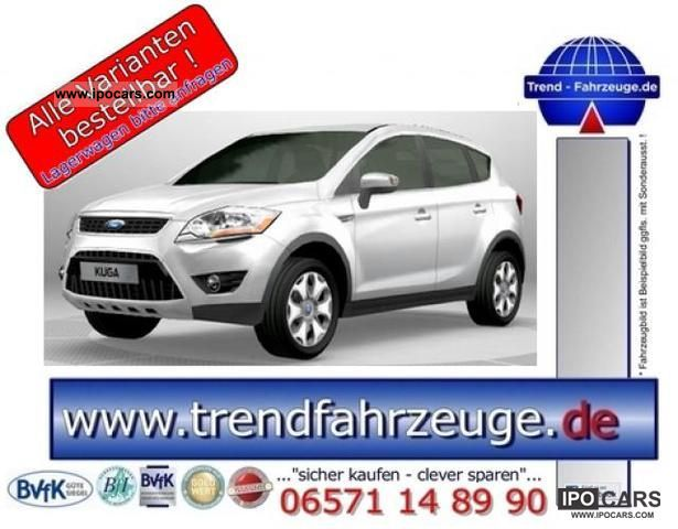 2011 Ford  Kuga 2.0l TDCi Trend 2012, 4 x 2, DPF, 103 kW ... Off-road Vehicle/Pickup Truck New vehicle photo