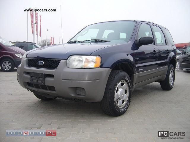 2002 Ford  MAVERICK Escape 3.0 V6 Off-road Vehicle/Pickup Truck Used vehicle photo