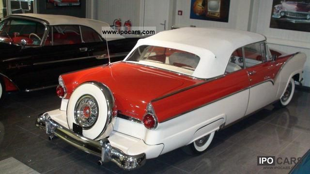 Ford  Sunliner 1955 Vintage, Classic and Old Cars photo