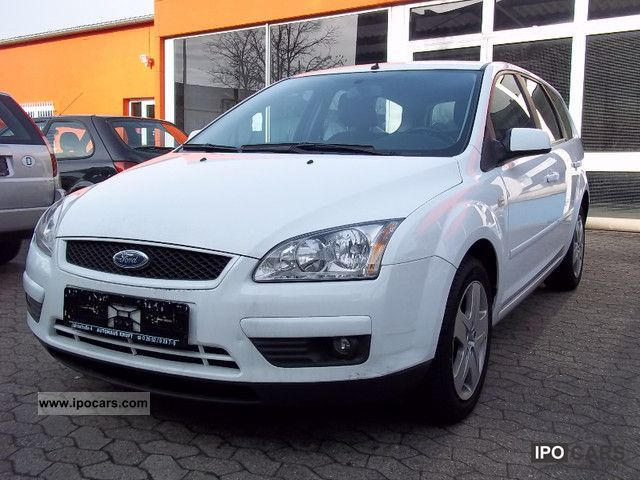 2007 Ford  * Focus Estate 1.6TDCi * Climate * Navi * Green sticker * Estate Car Used vehicle photo
