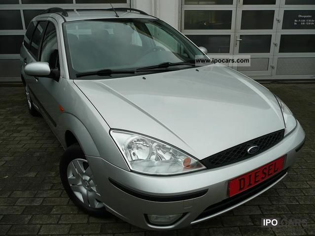 2002 Ford  Focus Wagon Turbo Diesel DI Estate Car Used vehicle photo
