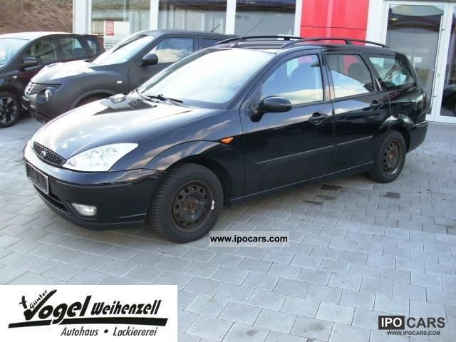 2003 Ford  Focus 1.8 TDCi Futura * PDC, climate, winter tires Estate Car Used vehicle photo