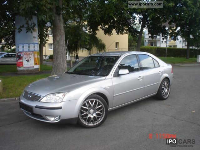 2003 ford mondeo 2 0 tdci car photo and specs. Black Bedroom Furniture Sets. Home Design Ideas