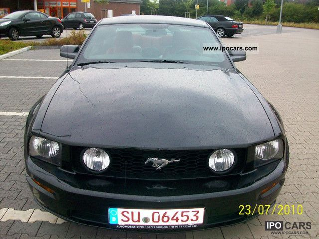 2007 Ford  Mustang GT Premium V8 LEATHER, Manual Sports car/Coupe Used vehicle photo