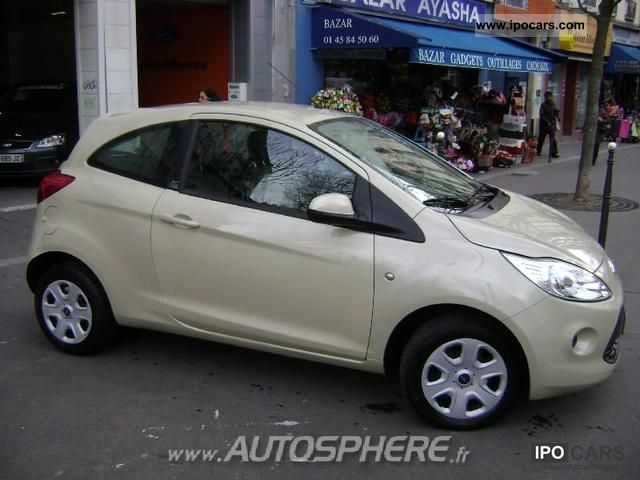 2009 ford ka 1 3 tdci ambiente 3p car photo and specs. Black Bedroom Furniture Sets. Home Design Ideas