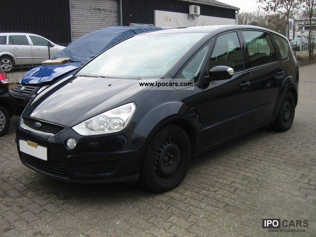 2007 ford s max 2 0 tdci trend vision trailer hitch euro4 car photo and specs. Black Bedroom Furniture Sets. Home Design Ideas
