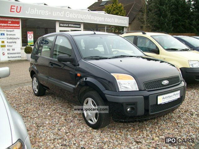 2006 Ford Fusion 1.4 Durashift EST atmosphere - Car Photo ...