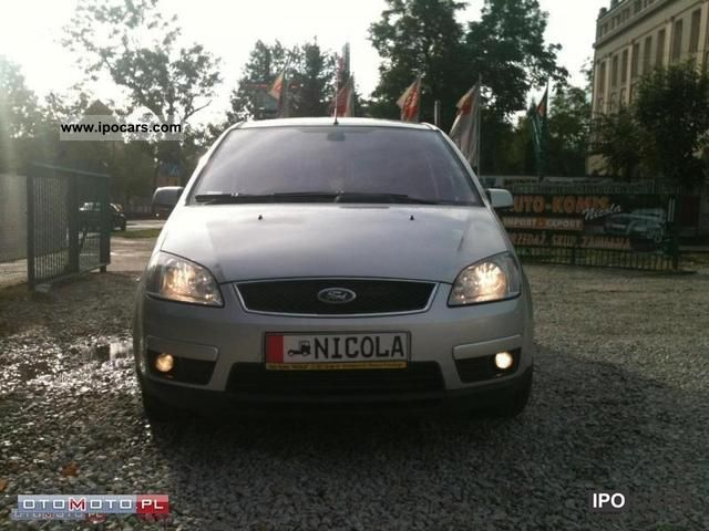 2007 Ford  C-MAX 1.8 TDCI Igla!! SERWIS!! Van / Minibus Used vehicle photo