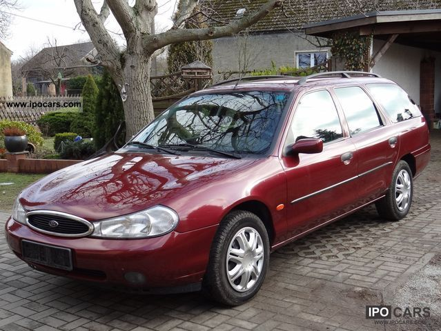 1998 ford mondeo 16v car photo and specs. Black Bedroom Furniture Sets. Home Design Ideas