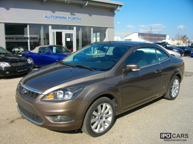 2010 Ford  Focus Coupe-Cabriolet 2.0 16V Titan.KLIMAA.PDC Cabrio / roadster Used vehicle photo