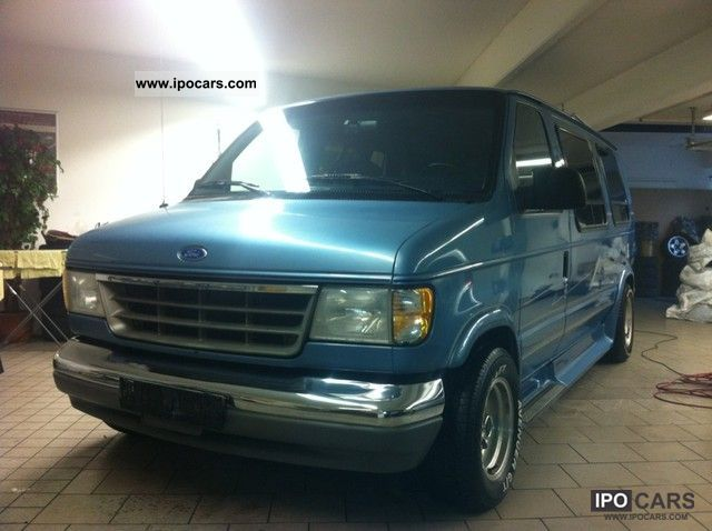 1992 Ford  * Model 150 Econoline V8 * 5.7 liter * RV * Van / Minibus Used vehicle photo