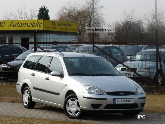2003 Ford  Tournament Focus Finesse 100 * AIR * Servo * CENTRAL! Estate Car Used vehicle photo