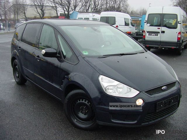 2007 Ford  S-Max 2.0 TDCi Ambiente, navigation, climate, 1Hand Van / Minibus Used vehicle photo