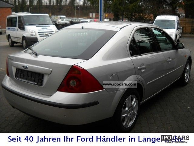 2002 ford mondeo 1 8 ghia tg fifth car photo and specs. Black Bedroom Furniture Sets. Home Design Ideas